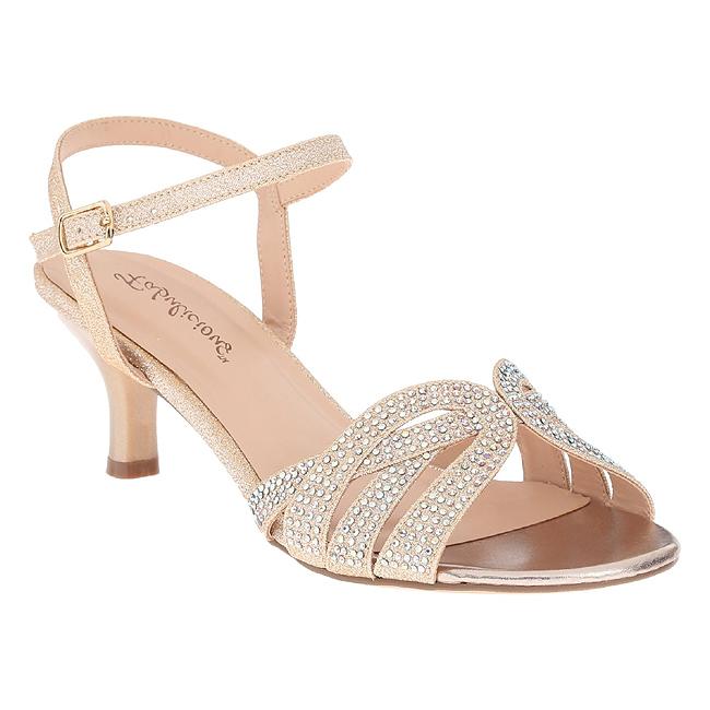 AUDREY-03 zapatos de fiesta y ceremonia oro talla 37 - 38