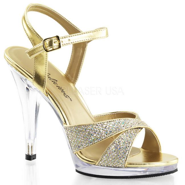 FLAIR-419G zapatos de fiesta y ceremonia brillo talla 39 - 40