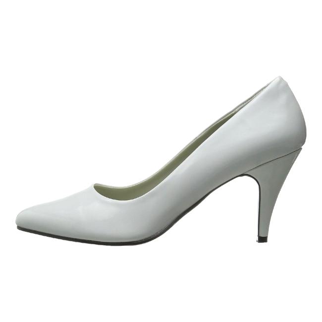 PUMP-420 zapatos de mujer blanco talla 35 - 36
